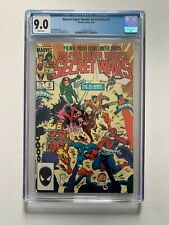 Marvel Super Heroes Secret Wars #5 CGC 9.0 / White Pages (1984 Series)