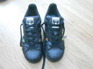 ADIDAS SUPERSTAR TRAINERS  SIZE UK 5.5