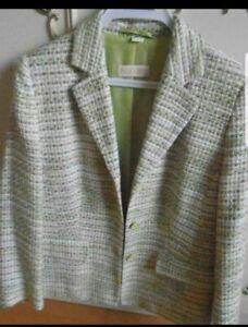 Grüne Damen Tweedjacke Gr.20