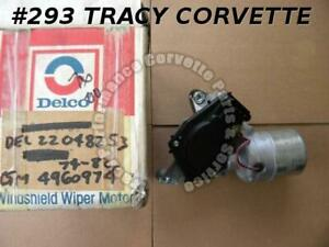 1974-1982 Corvette Wiper Motor GM# 4960974 22048253