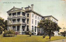 Utica New York 1908 Postcard by Tucks General Hospital