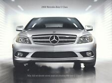 MERCEDES C-KLASSE C-Class W204 300 350 US Prospekt Brochure USA 2008 B12