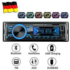 1 DIN AUTORADIO MIT BLUETOOTH FREISPRECHEINRICHTUNG 2 USB TF AUX-IN MP3 NON CD