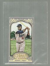 2012 Topps Gypsy Queen Mini Jackie Robinson Insert Card # 18 Dodgers Baseball