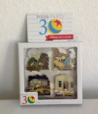 DISNEY PIXAR PARTY PIN EVENT PIZZA PLANET TRUCK BOX SET 4 PINS LE 300 + GIFTCARD