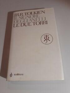 J.R.R. TOLKIEN, LE DUE TORRI, Il Signore degli Anelli, Bompiani rilegato 2008