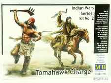 Master Box 1:35 MB35192 Tomahawk Charge Indian Wars series, kit #2 - NEU!