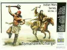 Master Box 1:35 MB35192 Tomahawk Charge Indian Wars series, kit #2 - NEU!