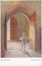 PC15853 The Open Door. Margaret W. Tarrant. Medici