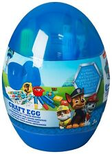 PAW PATROL CRAFT EGG ART PAINT CRAYONS MARKERS COLOURING SHEETS - BOYS