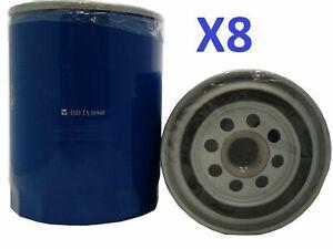 8x Oil Filter Suits Z9 FORD PUMA EUROPE TS/TL/TE50 W/O COOLER 5L V8 99-02
