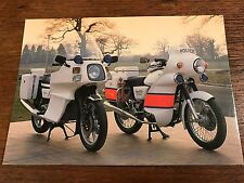 1984 Norton Interpol 2 & 1976 Commando National Motorcycle Museum Postcard (B)