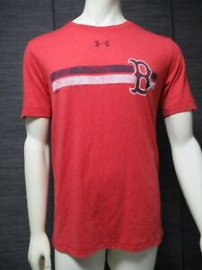 Boston Red Sox Under Armour Mens T-Shirt Red M