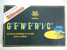 Généric Edition spéciales Télérama, Jeu de connaissances sur le cinéma