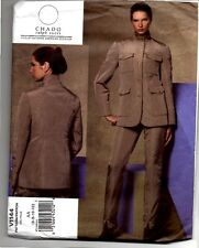 Vogue American Designer Chado Ralph Rucci Sewing Pattern V1144 Jacket Trousers