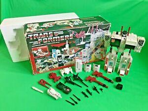 Transformers G1 Autobot City Metroplex 1985 Takara Hasbro - Boxed 100% Complete
