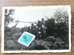 Orig. Foto Tiger Panzer s.Pz.Abt. 504 Stahllaufrollen Holland 1944
