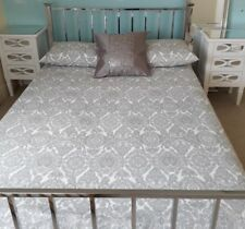 Mirrored chrome double bed frame pick up Frinton-on-sea VGC