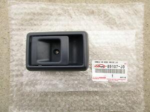 85 - 95 TOYOTA PICKUP FRONT LEFT SIDE INTERIOR DOOR HANDLE BEZEL TRIM BLUE NEW