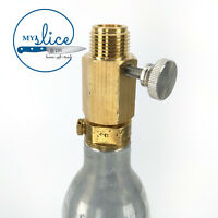 Deluxe Sodastream Cylinder Adapter (With Pin Adjustment)  - Keg, Kegerator