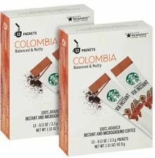 Starbucks VIA Instant Coffee Colombia, 26 Packets