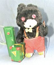 TRAVELER BEAR 1950's JAPAN by  K Co. ( Sankie Co. ) EXCELLENT & WORKING