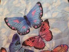 valance Butterfly Papillon 84 x 18 Girls room Blue Purple