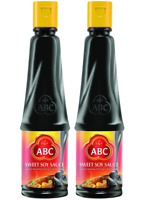 ABC Sweet Soy Sauce, Marinade Dip, Black Dark Halal Vegan, 20.2 Fl. Oz 600mL (Pa