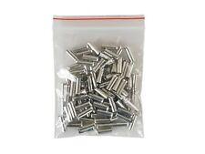 Terminales de cable blank 6,0 mm² Longitud: 12mm, 100 piezas