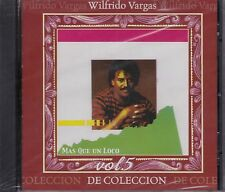 Wilfrido Vargas Mas Que un Loco Vol 5 De Coleccion CD New Nuevo Sealed