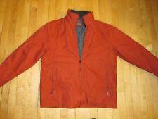 Johnston & Murphy Brick Charcoal Soft Shell Light Insulated Jacket Men's L A5