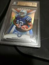2012 topps platinum ANDREW LUCK DIE CUT ROOKIE  BGS 9.5