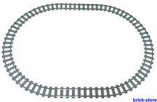 LEGO ® ferrovia rotaie CERCHIO 16x gebogne/4 x appena rotaie (60051,60052)