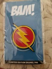 BAM! Box The Flash SPEED FORCE LIMITED EDITION Enamel Pin