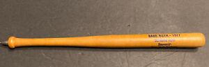 "SCARCE VINTAGE BASEBALL YANKEE STDM.~8 1/4""~1927 BABE RUTH 60 HR~WOOD BAT PEN"