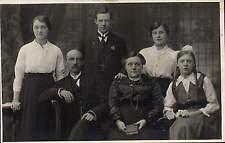 Nelson, Preston & Wrexham photo. Group & Woman Priest by J.H. Jamieson.