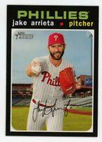 2020 Topps Heritage #287 JAKE ARRIETA Philadelphia Phillies 1971 STYLE CARD