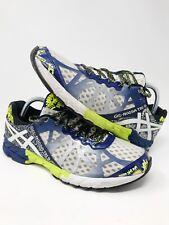 Asics Mens Gel Noosa Tri 9 T408N Sz 10 Blue Green White Running Shoes