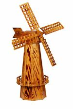"""Wooden Windmill Large (60"""") Amish Made in USA"""