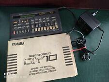 Yamaha QY10 | Music Sequenzer Drum Machine Rhythm Synthesizer