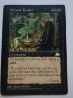 MTG Magic the Gathering English Infernal Tribute 1997 Weatherlight NM