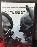 Batman IL Cavaliere Oscuro IL Ritorno DVD Nuovo Sigillato Nolan  Bale Cane N