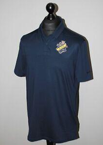 AIK Sweden training polo football shirt Nike Golf Size M