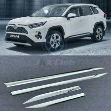 For Toyota RAV4 2019-2020 ABS Chrome Side Panel Door Body Molding Cover Trim 4X