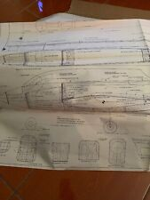 "BRIDI XLT PATTERN AIRPLANE Plans 65"" AMA OR TURNAROU Copied Plans ONLY!"