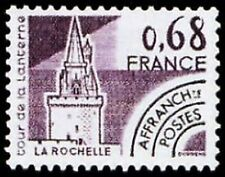 "FRANCE PREOBLITERE TIMBRE STAMP 162 "" MONUMENTS ,TOUR LA ROCHELLE "" NEUF xx LUXE"