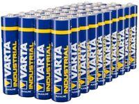 40 x Varta Industrial LR03/AAA 4003  - Batterie Alkaline 1,5V