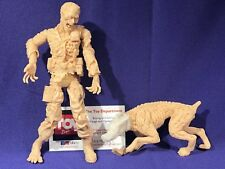 Palisades Toys Resident Evil Series 1 SOLDIER ZOMBIE & Dog Prototype Testshot