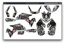 Suzuki LTR 450 ATV stickers decals graphics kit 2006-2019 graphic kit stickers