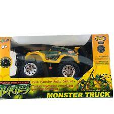 Tmnt 2008 Teenage Mutant Ninja Turtles Nkok Inc. Rc Monster Truck New(other)